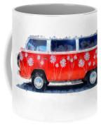 Flower Power Van Coffee Mug
