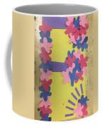 Flower Scene Coffee Mug