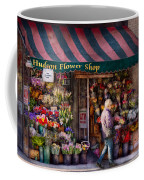 Flower Shop - Ny - Chelsea - Hudson Flower Shop  Coffee Mug