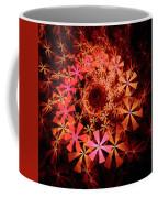 Flower Whirlpool Coffee Mug
