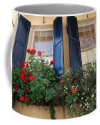 Flower Window In Charleston Sc Coffee Mug