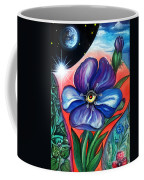 Flower With Eye. Plant From Space Coffee Mug