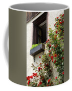 Flowered Window Coffee Mug