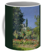 Flowering Garden At Sainte-adresse Coffee Mug