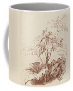Flowering Plant With Buds Coffee Mug