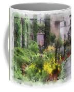 Flowers Along The Pathway Coffee Mug