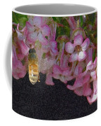 Flowers And Bees Coffee Mug