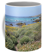 Flowers And Surf Coffee Mug