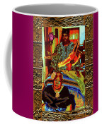 Flowers And Wings For Her Tears And Years Coffee Mug