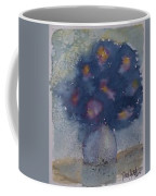 Flowers At Night Original Abstract Gothic Surreal Art Coffee Mug