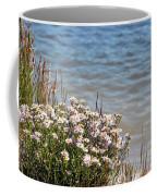Flowers At The Lake Coffee Mug