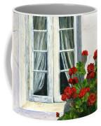 Flowers At The Window Coffee Mug