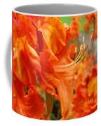 Flowers Azalea Garden Orange Azalea Flowers 1 Giclee Prints Baslee Troutman Coffee Mug