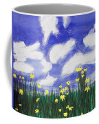 Flowers Bright Field Coffee Mug