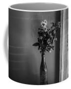 Flowers In A Peculiar Vase Coffee Mug