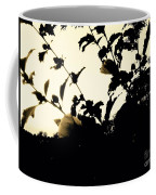 Flowers In Black And White Coffee Mug