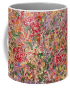 Flowers In Purple Vase. Coffee Mug