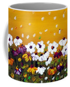 Flowers In The Sunset  Coffee Mug