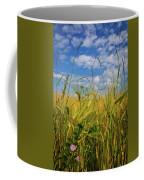 Flowers In The Wheat Coffee Mug