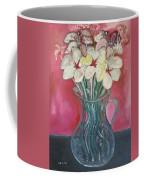 Flowers Inside Glass Pitcher Coffee Mug