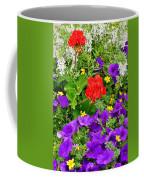 Flowers Of Bethany Beach - Petunias Coffee Mug