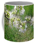 Flowers Of The Blackthorn Shrub Coffee Mug