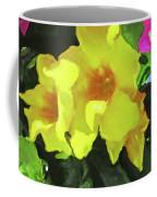 Flowers On Deck Coffee Mug