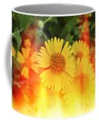 Flowers On Fire Coffee Mug
