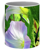 Flowers On The Fence Coffee Mug