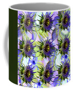 Flowers On The Wall Coffee Mug by Betsy Knapp
