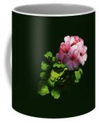 Flowers - Pale Pink Geranium Coffee Mug