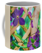 Flowers Purple Coffee Mug
