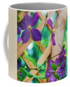 Flowers Purple Coffee Mug