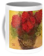 Flowers Red Coffee Mug