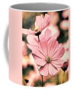 Flowers - Retro Cosmos Coffee Mug
