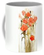 Flowers Wet Coffee Mug