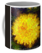 Flowery Acceptance In Abstract Coffee Mug