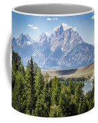 Flowing In The Forest Coffee Mug