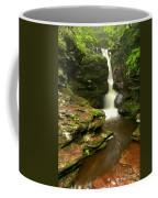 Flowing Toward The Red Rocks Coffee Mug