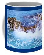 Flowing Water In The Cayman Islands # 4 Coffee Mug