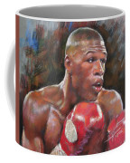 Floyd Mayweather Jr Coffee Mug by Ylli Haruni