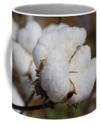 Fluffy White Alabama Cotton Coffee Mug