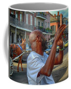 Flute Musician In New Orleans Coffee Mug