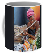 Flute Player Coffee Mug