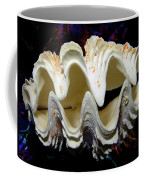 Fluted Giant Clam Shell Coffee Mug