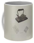 Fluting Iron Coffee Mug