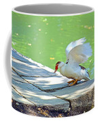 Fly Away Duck Coffee Mug