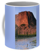 Fly Fishing On The Madison River Coffee Mug