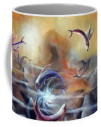 Flying Fishes Coffee Mug