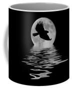 Flying Hawk 1 Coffee Mug by Shane Bechler